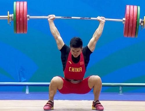 Shi Zhiyong (69kg) cu un total de 360kg la Campionatele Naționale din China