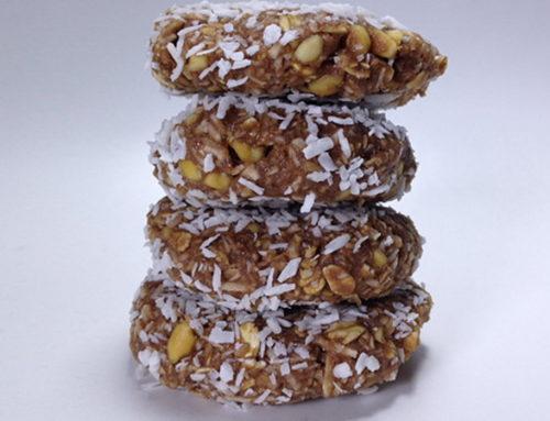 Biscuiți proteici fără coacere