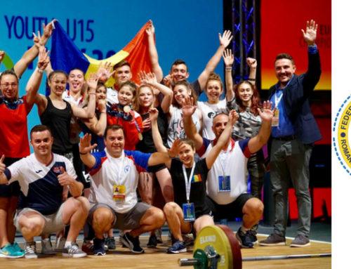 România a cucerit 39 de medalii la Campionatele Europene de haltere U-15 şi U-17