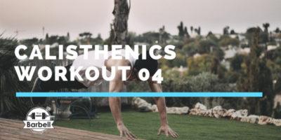 antrenament calisthenics