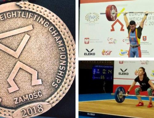 Ilie Constantin Ciotoiu a adus prima medalie Romaniei la Europenele de juniori si tineret din Polonia