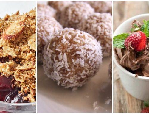 3 retete de dulciuri fara zahar