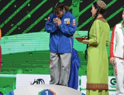 34 noi recorduri mondiale au fost inregistrate pana acum la Campionatele Mondiale din Turkmenistan.