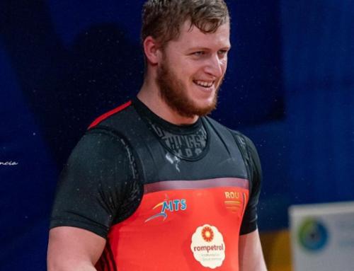 Andrei Roman a cucerit o medalie de bronz la Europenele de juniori si tineret