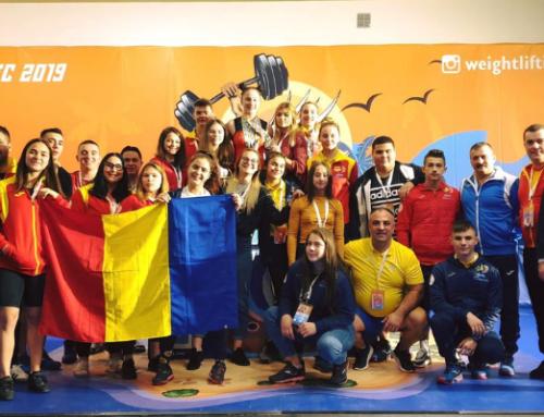 Romania a incheiat Europenele U-15 si U-17 din Israel cu 43 de medalii