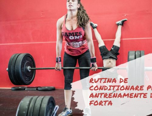 Exercitiile Cardio: Rutina de conditionare prin antrenamente de forta